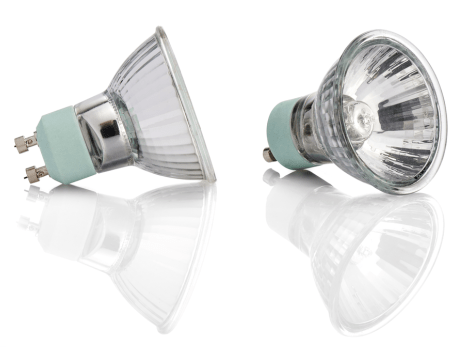 Light Fixtures: Halogen bulbs