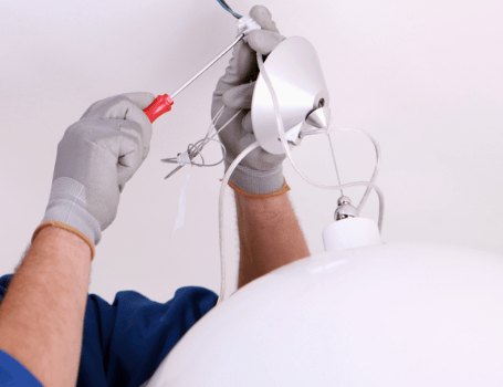 Replace Electrical Fixtures in RI