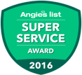 Angies list: Super Service