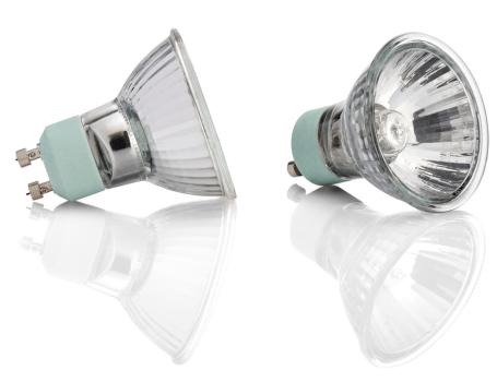 Light Fixtures: Halogen bulbs